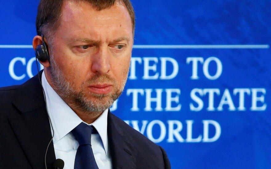 Smūgis žymiam Rusijos oligarchui: po JAV sankcijų smarkiai krito akcijų vertė