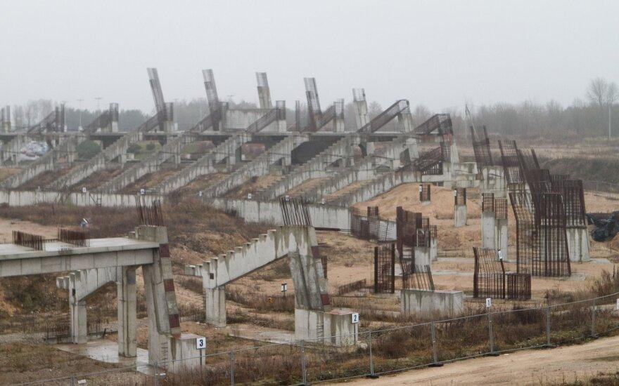 Premjeras žada: gegužę paaiškės, ar Nacionalinio stadiono projektas bus tęsiamas