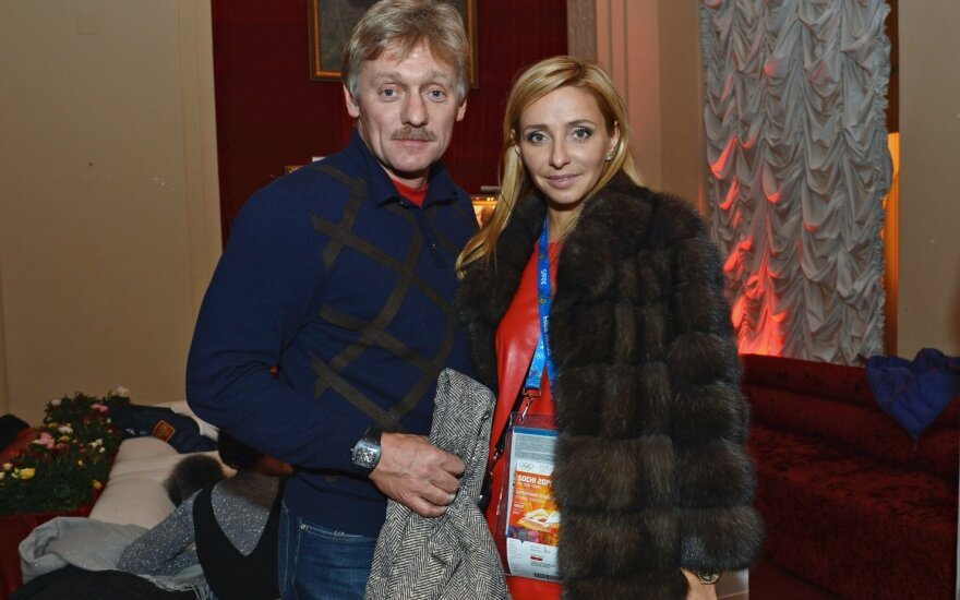 Tatjana Navka, Dmitrijus Peskovas