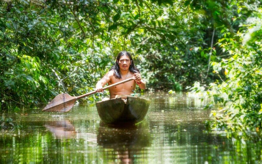 Neįtikėtinas žvejybos būdas: poledinė žūklė Brazilijoje
