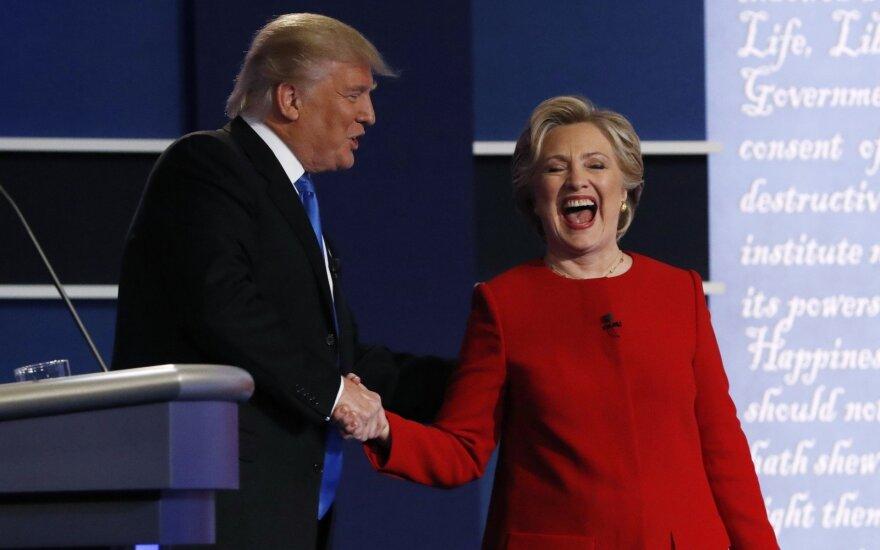 Ko galima tikėtis, jei H. Clinton pasieks įtikinamą pergalę?
