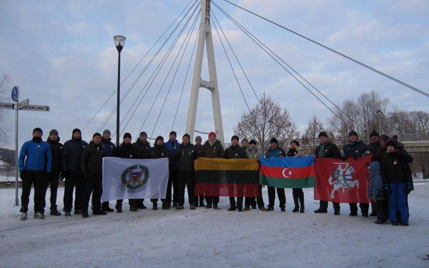 Tartu lietuvių bendruomenė pagerbė Laisvės gynėjus