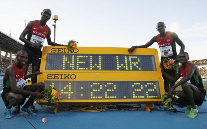 Kenijos estafetės 4x1500 m rinktinė