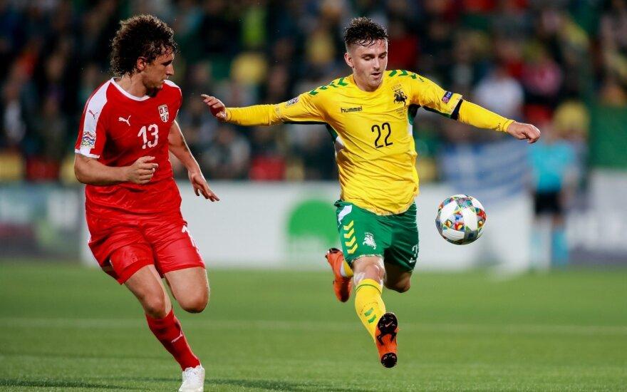 Paskelbta Lietuvos rinktinės sudėtis rungtynėms su Portugalija ir Naująja Zelandija