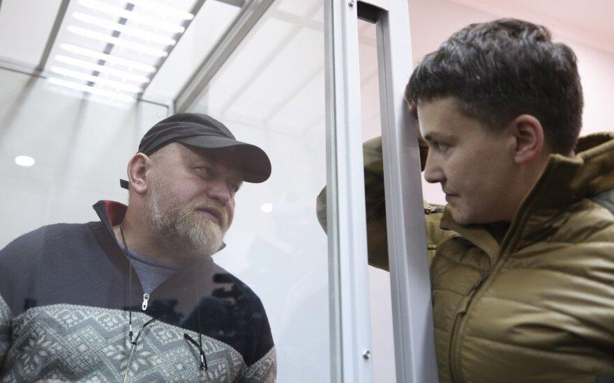 Ukrainietis apkaltintas rengiant sąmokslą prieš Porošenką: gabeno visą arsenalą ginklų