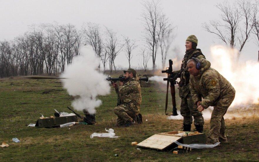 Kijevas atmetė Vokietijos siūlymą suteikti Donbasui ypatingąjį statusą