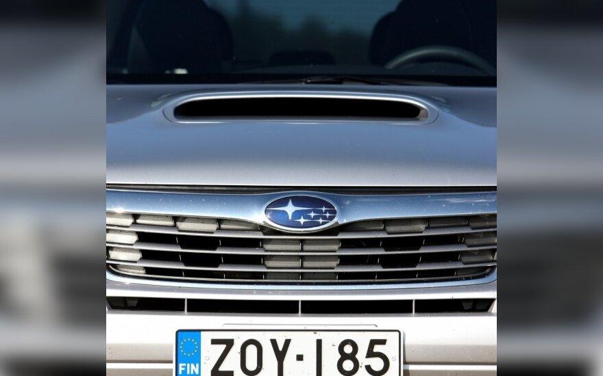 """""""Subaru"""" pristatė naujos kartos variklius"""