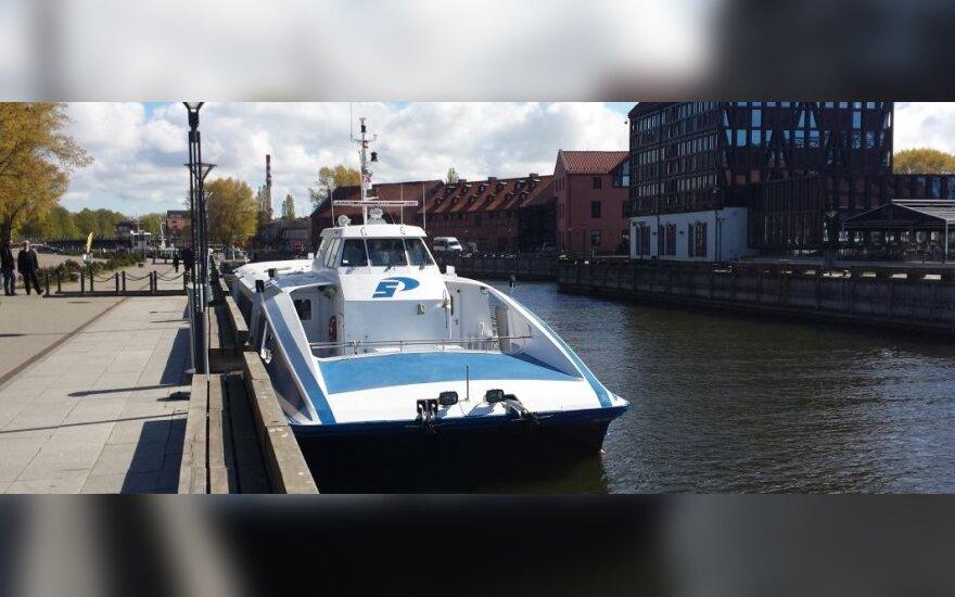 Tarp Klaipėdos ir Nidos pradeda plaukti greitaeigis keleivinis laivas