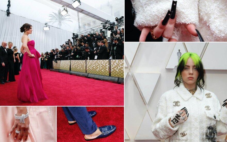 """""""Oskarai 2020"""" raudonasis kilimas"""
