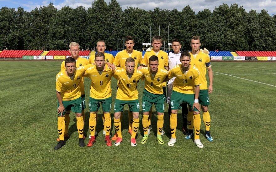 Lietuvos U-19 futbolo rinktinė 2018