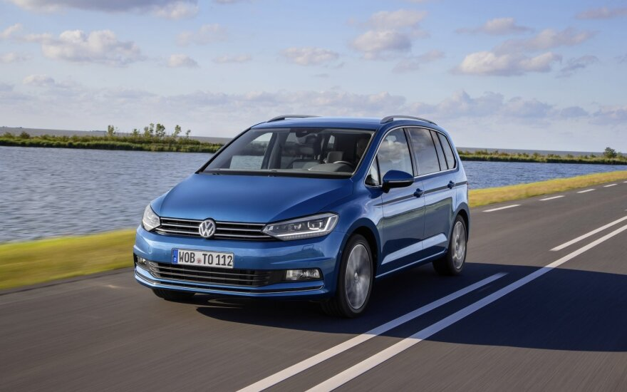 """Volkswagen Touran"" įvertintas saugumo testuose"