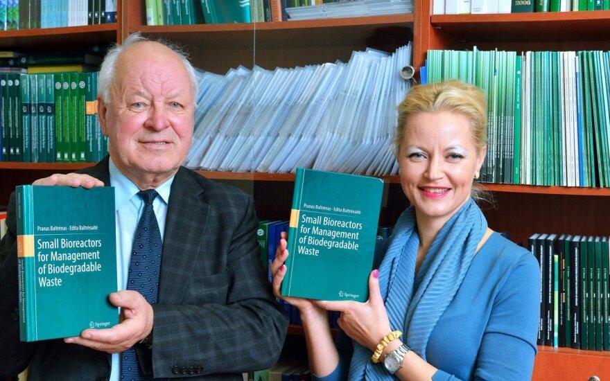P. Baltrėnas ir E. Baltrėnaitė
