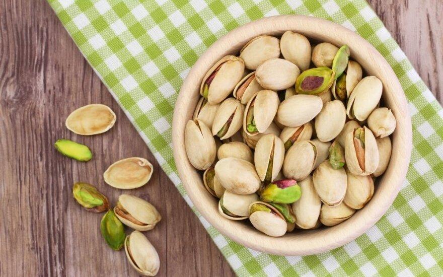 Mažo riešuto didelė nauda: mažina cholesterolį ir didina potenciją