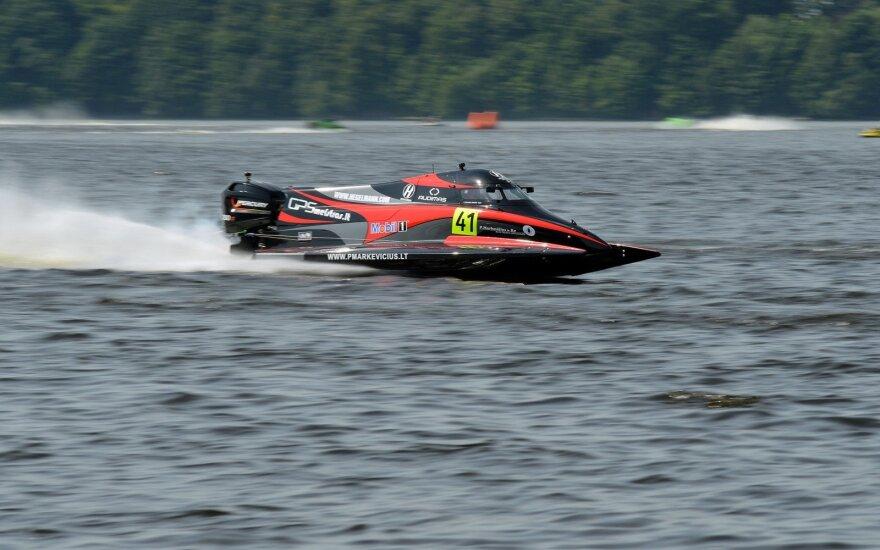 Kova prasideda: Zarasuose paaiškės Europos F2 vandens formulių čempionas