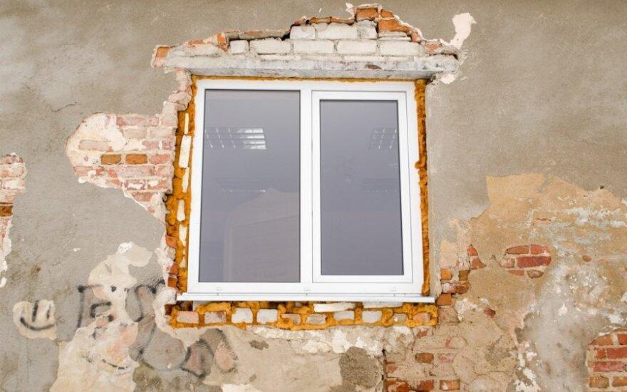Atliekant renovaciją reikėtų rinktis kokybiškus langus