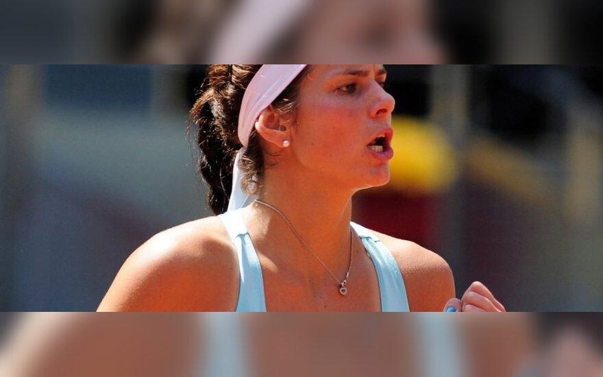 J.Goerges per 11 dienų antrą kartą nugalėjo C.Wozniacki