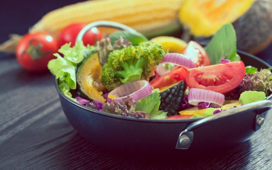 Kokios spalvos daržovės sveikiausios?