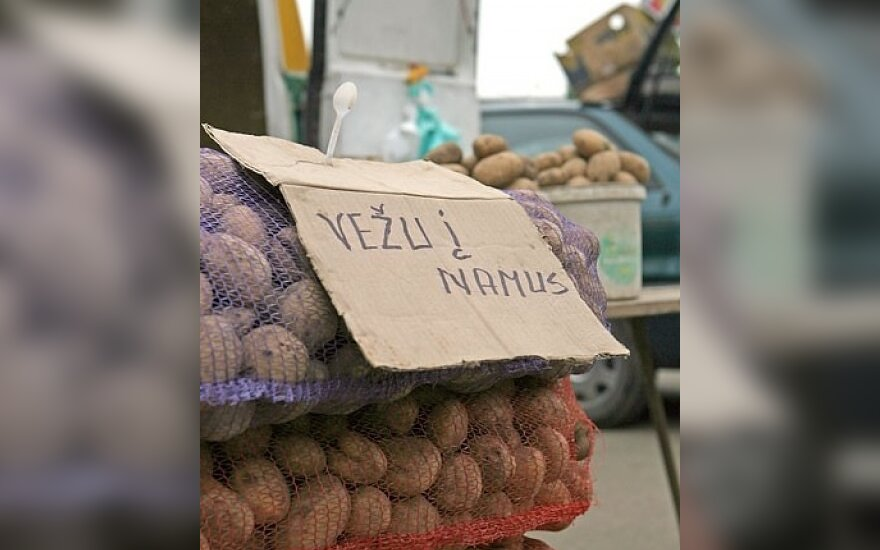 Vilniečiai kviečiami į ūkininkų turgelius