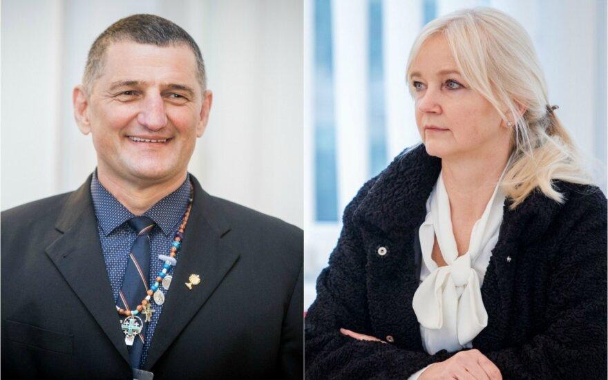 Henrikas Daktaras ir Ramutė Daktarienė