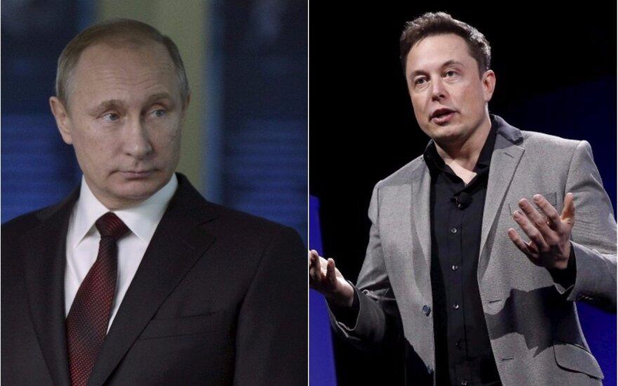 Vladimiras Putinas, Elonas Muskas