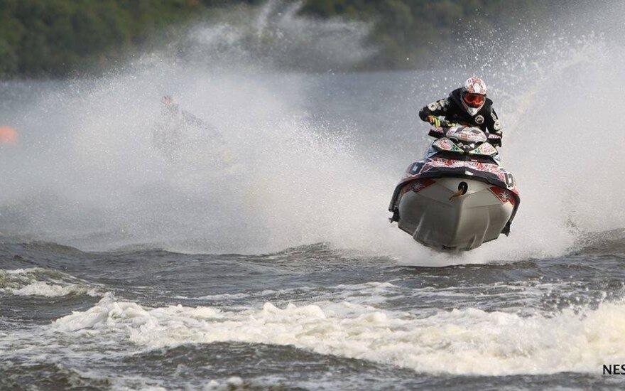 Mindaugas Jačiauskas, Lietuvos vandens motociklų čempionatas