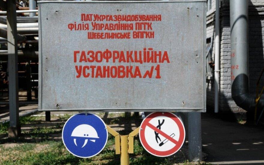 Porošenka: situacija dėl dujų tiekimo Ukrainai stabilizavosi