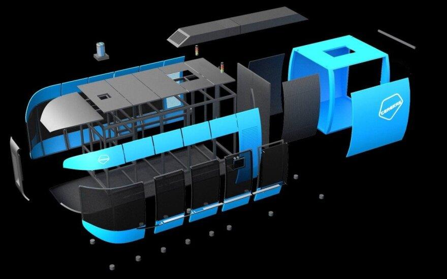 PET taros pūtimo mašina Lito-6. UAB Terekas, Dizaineriai Saulius Jarašius Jsj ir Andrius Žemaitis