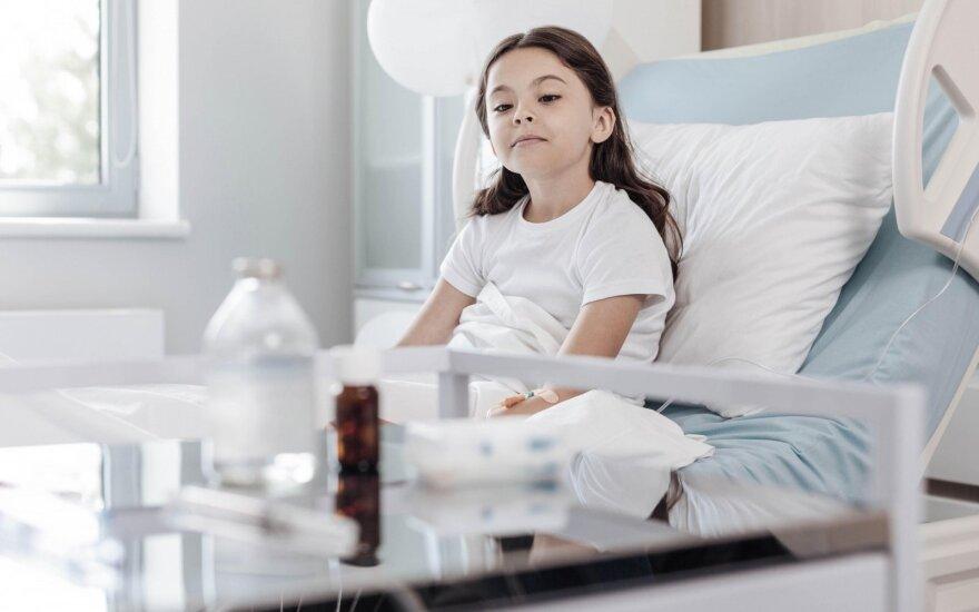 Dėl gripo į ligoninę praėjusią savaitę paguldyti devyni vaikai