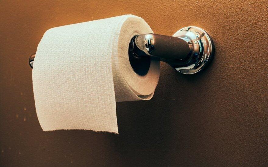 Tualetinio popieriaus testas: ką atskleidžia ritinėlio padėtis