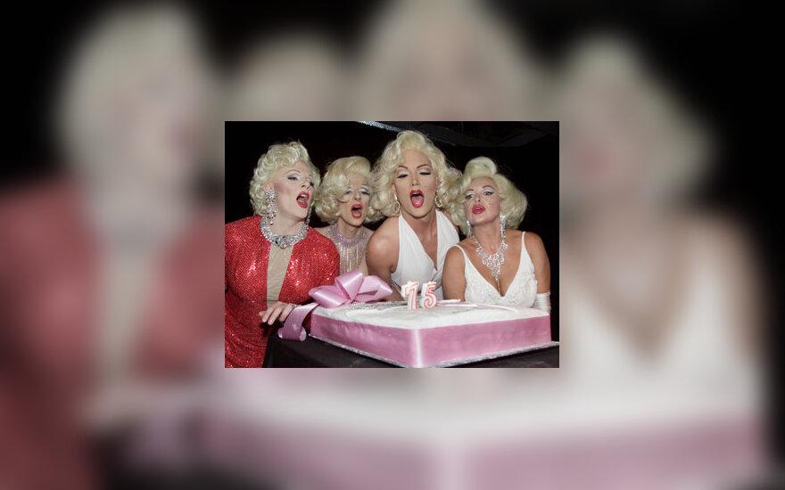 Marilyn Monroe gerbėjos švenčia aktorės 75-ąjį gimtadienį
