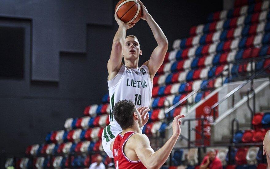 Europos jaunimo čempionatas: Kroatija – Lietuva