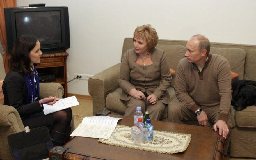 Erzinantis V. Putino įprotis: kartą neištvėrė net žmona