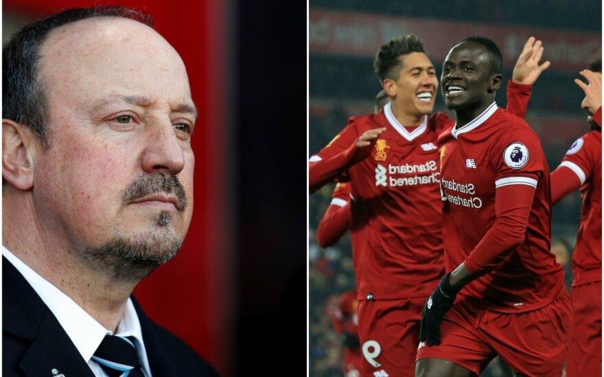 """Rafaelis Benitezas ir """"Liverpool"""" ekipa"""