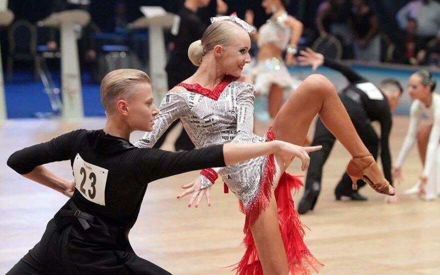 Šokėjai K. Burneikis ir I. Šekaitė Vokietijoje laimėjo medalius