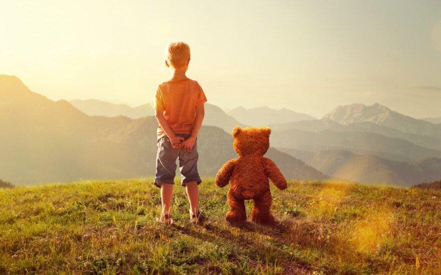 Įsivaizduojami vaiko draugai – ar verta sunerimti?