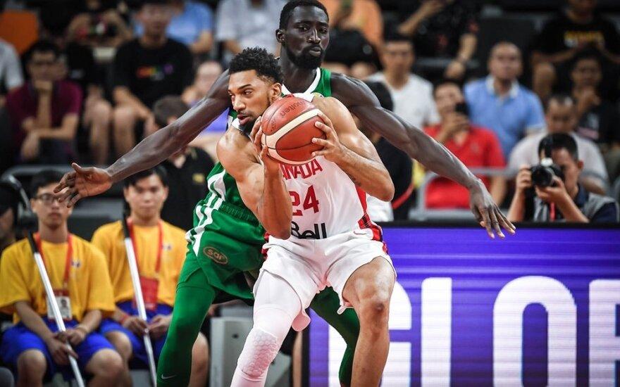 Pasaulio čempionato rungtynės: Kanada - Senegalas