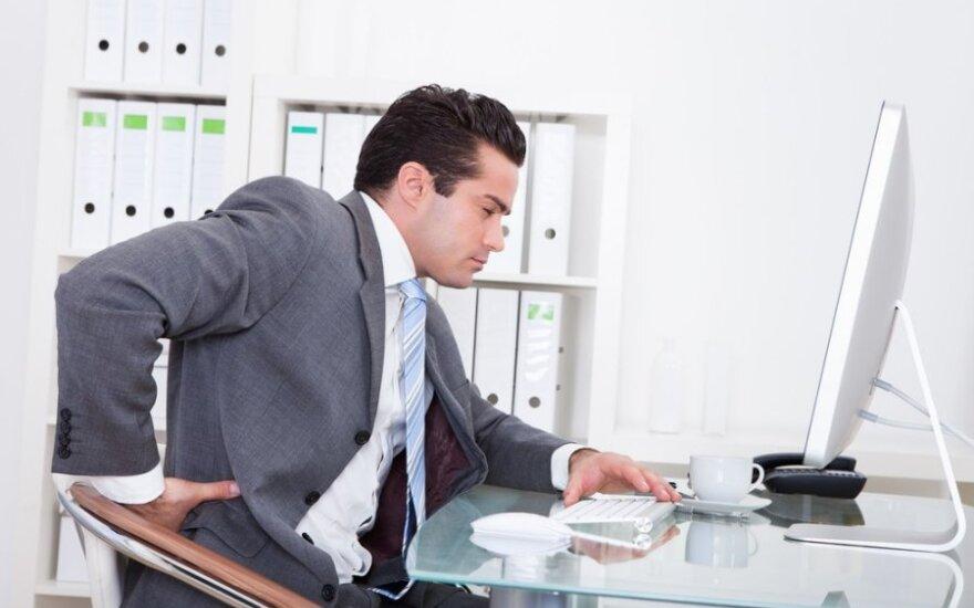 Vokietijos ekspertė: nėra standartinių žmonių, todėl negali būti ir tokių kėdžių