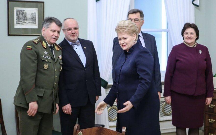 Vytautas Jonas Žukas, Juozas Olekas, Dalia Grybauskaitė, Algirdas Butkevičius, Loreta Graužinienė