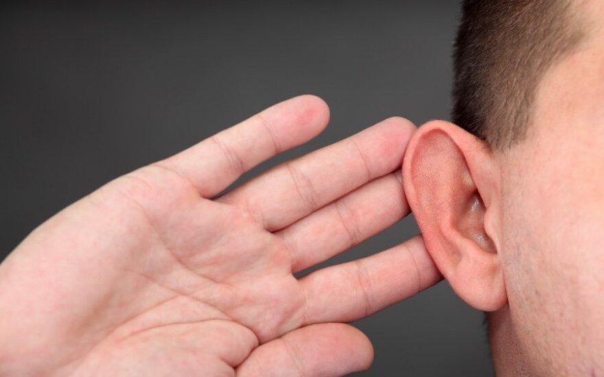 Greitoji pagalba skaudančiai ausiai