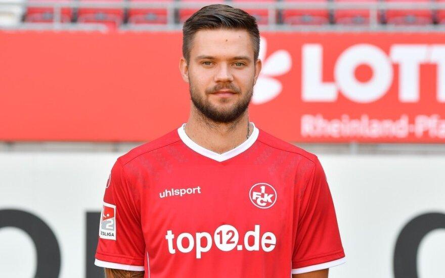"""Lukas Spalvis (Foto: FC """"Kaiserslautern"""")"""