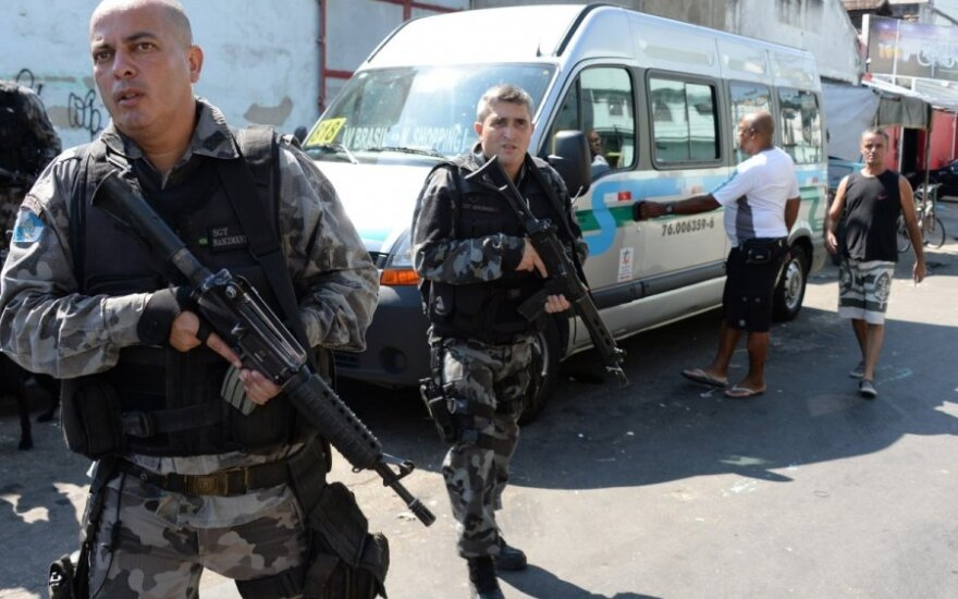 Brazilijos policija