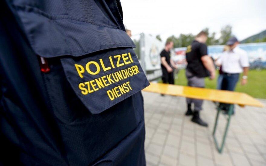 Austrijoje sulaikytas įtariamas islamo ekstremistas