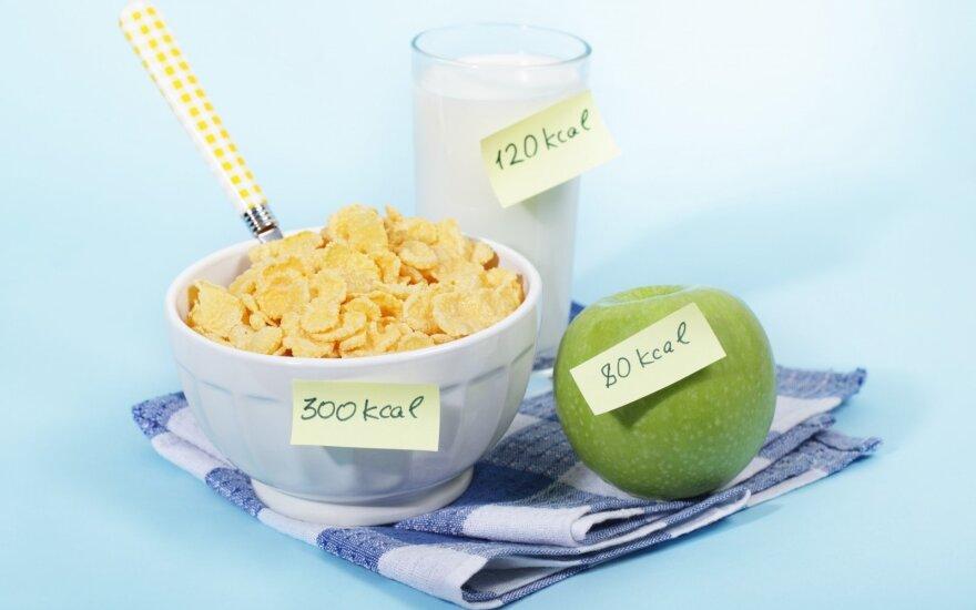 7 dalykai, kuriuos turite žinoti, jei skaičiuojate kalorijas