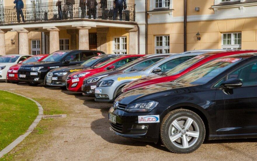 Latvijos metų automobilis 2013 dalyviai