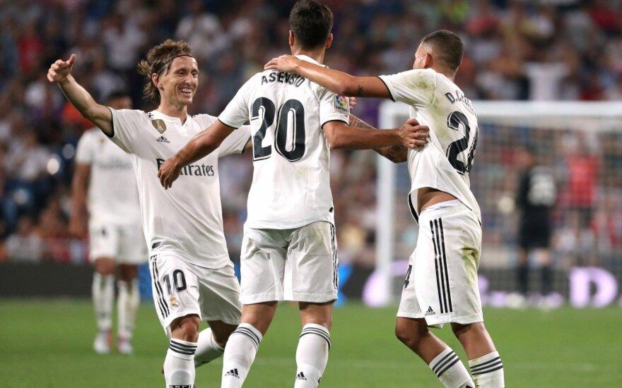 """Viena graži ataka lėmė """"Real"""" pergalę Ispanijoje"""