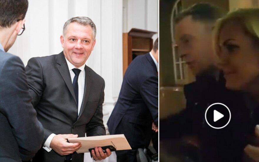 """Naktiniai kandidato į Klaipėdos merus Masiulio pažadai: žolės, meilės ir """"feelingo"""""""