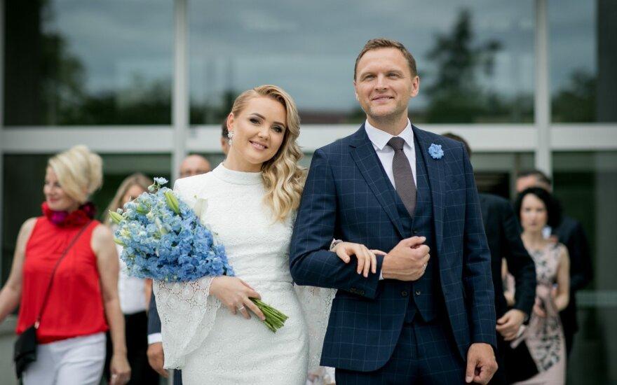 Donatos Šukytės ir Dariaus Raubos vestuvės