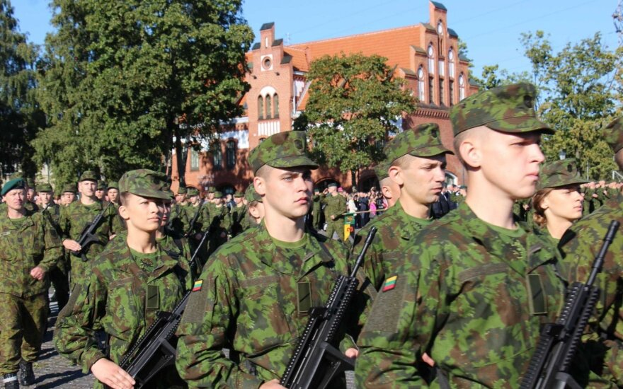 Conscription must remain permanently, Lithuanian parliament speaker says