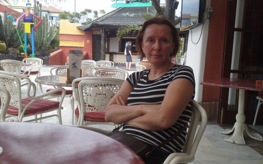 Vaivos Budraitytės atostogų Tenerifėje akimirka