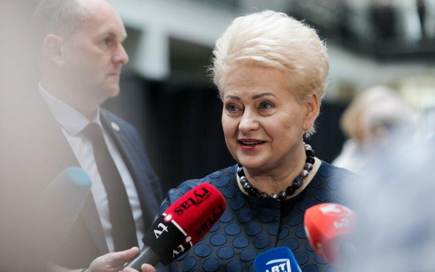 Ušackas nubraižė naujas Grybauskaitės perspektyvas Europoje